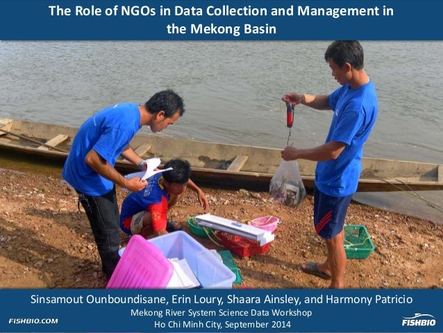 Sinsamout Ounboundisane, Erin Loury, Shaara Ainsley, and Harmony Patricio Mekong River System Science Data Workshop Ho Chi...