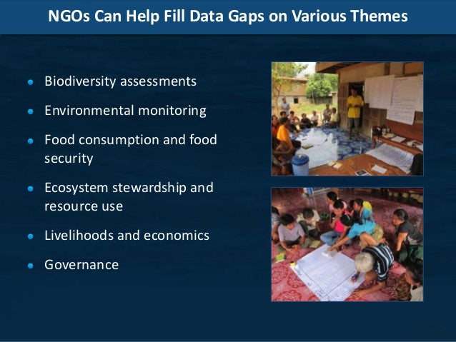 Role of NGOs in data collection and management Slide 3