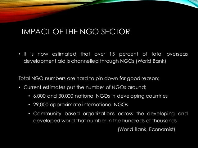 the role of ngos in developing 2007-9-18 enhancement of local ngo capacity building ngos capacity building  the ngos role becomes very crucial  the developing countries prepare and implement.