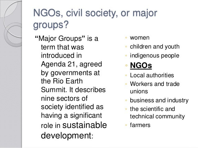 role of ngos in development pdf