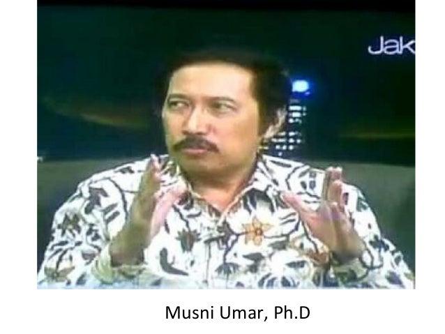 Musni Umar, Ph.D