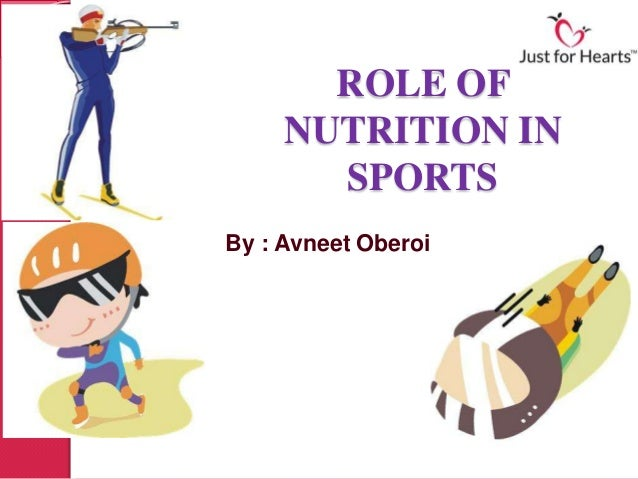 ROLE OF     NUTRITION IN       SPORTSBy : Avneet Oberoi