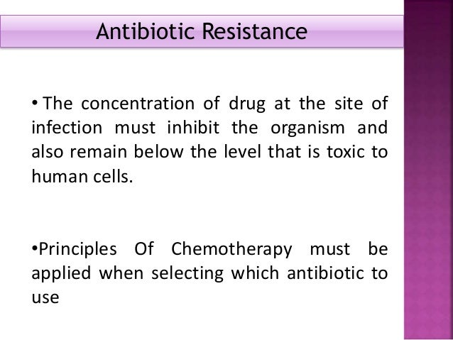 Defined as micro-organisms that are not inhibited by usually achievable systemic concentration of an antimicrobial agent w...