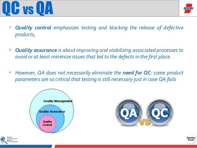 qa qc As the mining industry continues to improve transparency between companies and investors, reliable quality assurance and quality control (qa/qc) procedures have become an important requirement of legislative codes yet although establishing a meaningful, credible database is vital to the success of any project, it can.