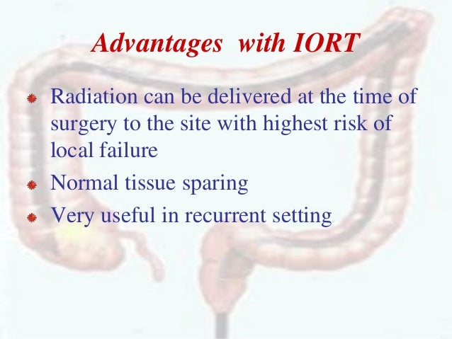 Role of radiation in carcinoma rectum and colon