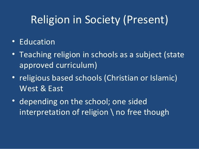 role and function religion society Religion & ethics newsweekly this week highlights the growing ties  who — the  teachers, the law society, the civil society organizations.