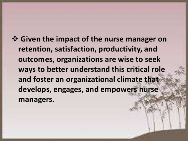 Research papers on nursing leadership