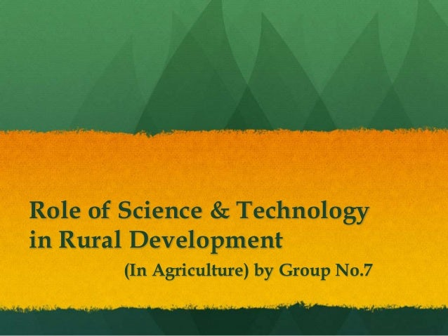 Role of Information and Communication Technology in Development