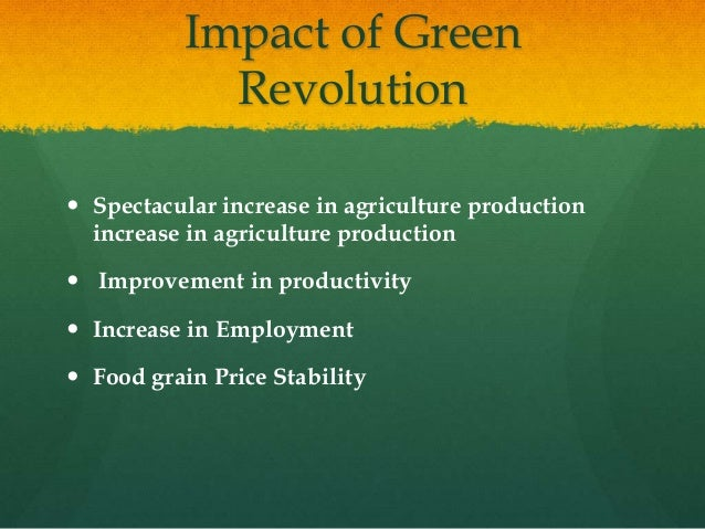 impact of green technology