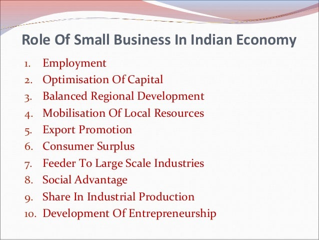 role of small business in economic Therefore, encouraging youth entrepreneurship and the development of small businesses have to be central to any new growth strategy this paper focuses on the economic aspects of egypt's transition.
