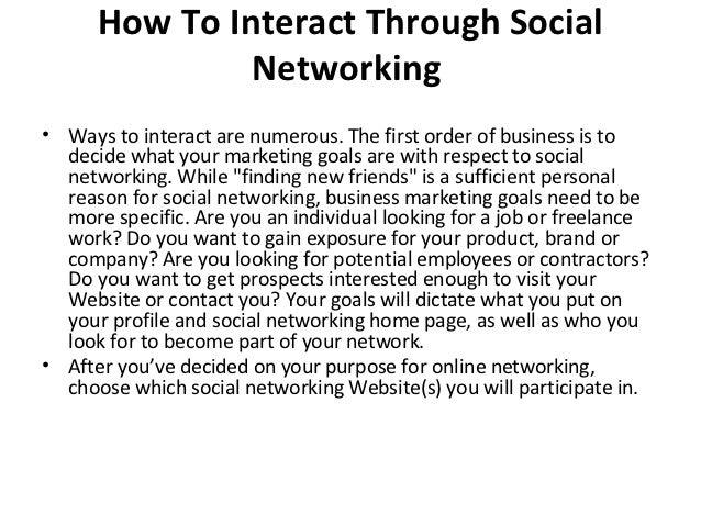Business Networking - What It Is & Benefits of Networking