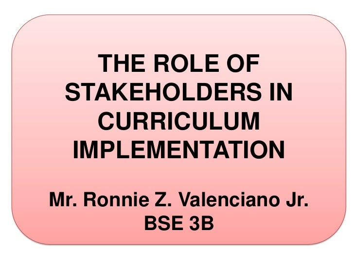 role of stakeholder Lesson 7: identify stakeholders 73 a stakeholder register may be used to record a general overview of each stakeholder and their planned/forecasted role on the .
