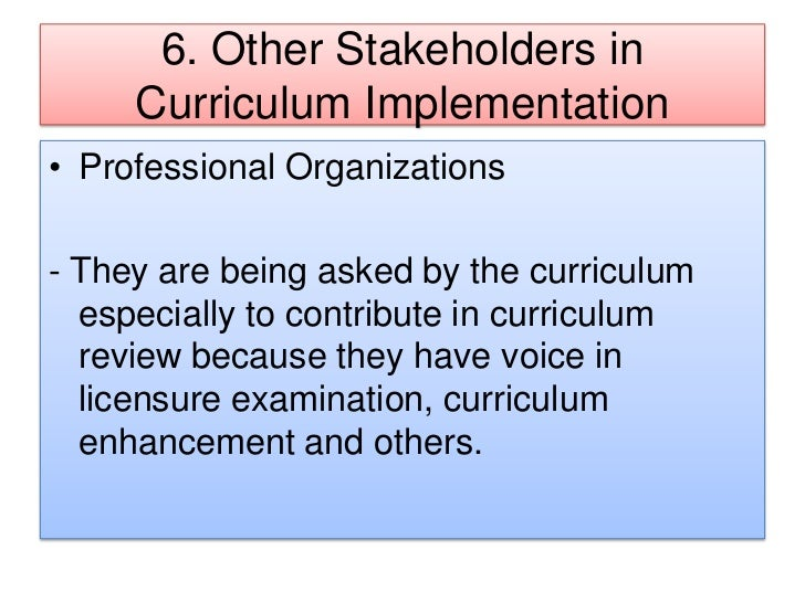roles in curriculum development However, only a few countries report a substantial role for research in designing and monitoring the development of their curriculum the data also suggests great variation among countries at the implementation level key words: standards curriculum technology tracking textbooks research and teacher support.