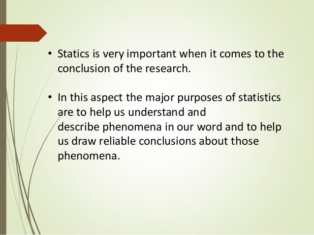 What Is the Role of Statistics in Research? | Reference.com