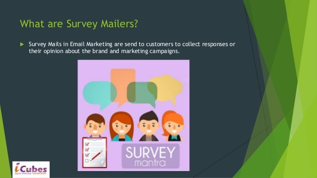 role of survey mailers in email marketing