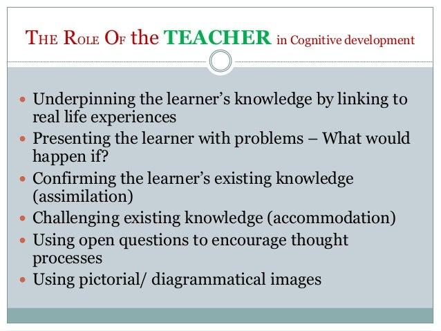 Role of teacher in intellectual development ppt