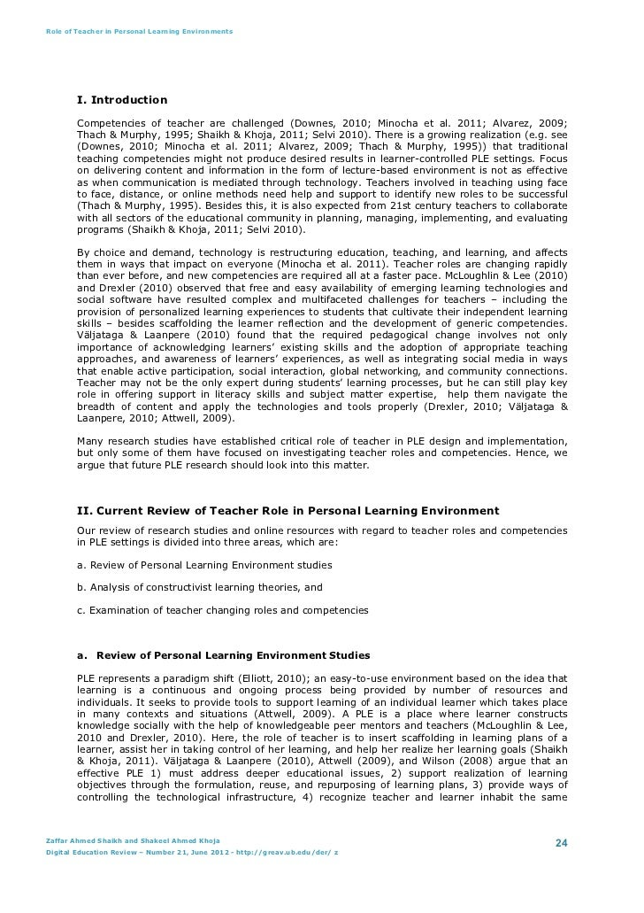 role of teacher in lifelong learning  the re-assessment of the role of universities in the provision of lifelong learning -to reconsider funding arrangements so as to facilitate opportunities for those returning to study after periods the informal factors influencing lifelong learning and education and.
