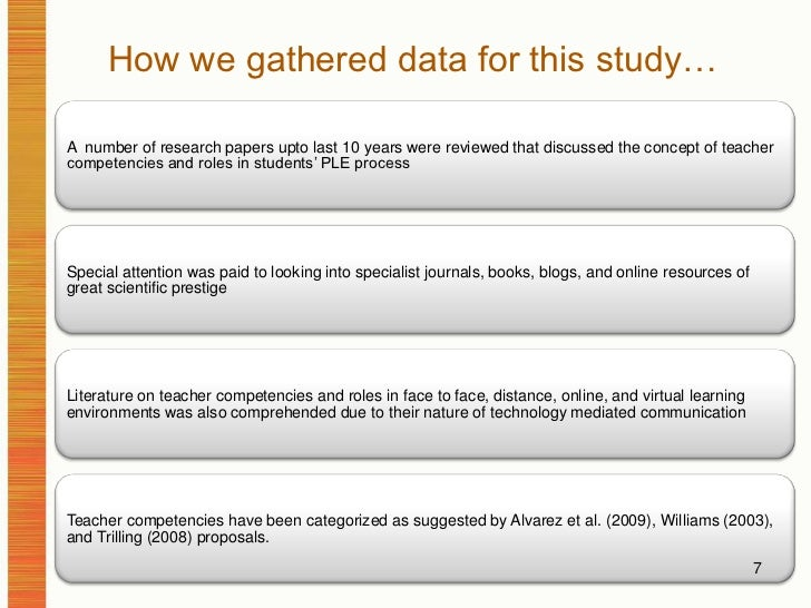 How we gathered data for this study…<br />7<br />