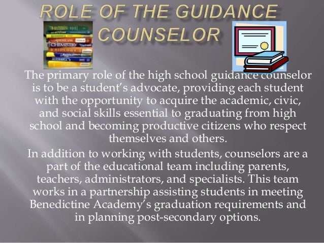 what are the importance of guidance and counselling in primary school