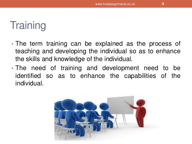 objective of training and developing a role Training and development  readiness and identify key roles  the results of the needs assessment allows the training manager to set the training objectives by .