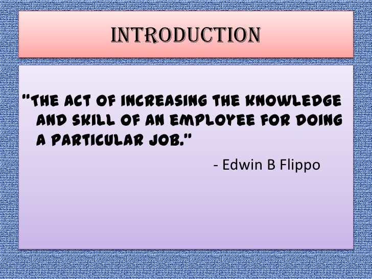 hrm definition by edwin b flippo Discuss human resource management particularly highlighting its significance   flippo, edwin b, 1984, personnel management, fourth edition, mc graw-hill.