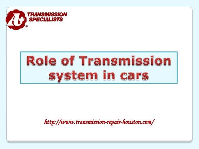 http://www.transmission-repair-houston.com/