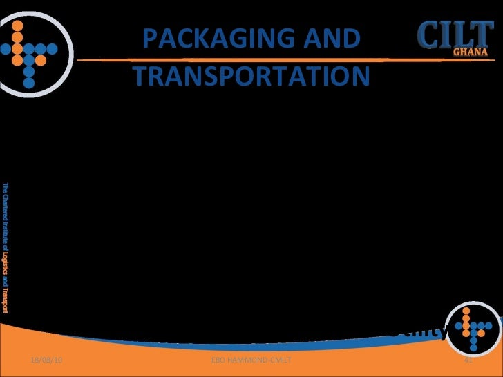 roles of transportation Role of transportation in logistics chain - download as pdf file (pdf), text file (txt) or read online.