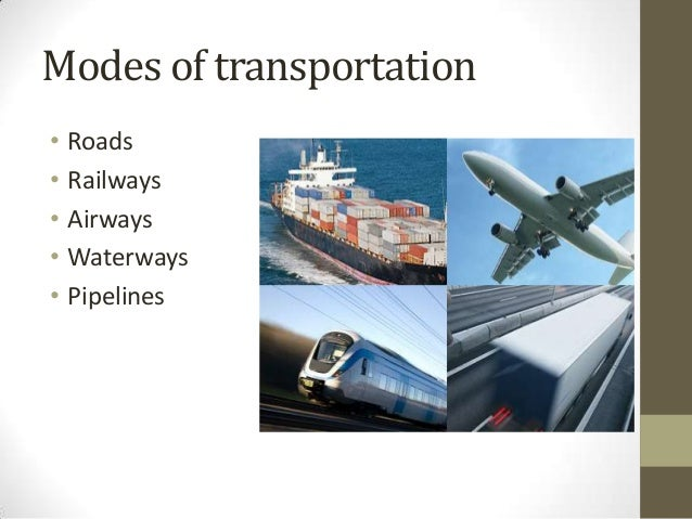 Development of transportation essay