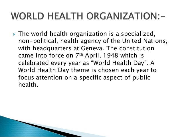 the organization of public health Colorado association of local public health officials (calpho) is the statewide  organization representing local public health agencies its purpose is to foster.