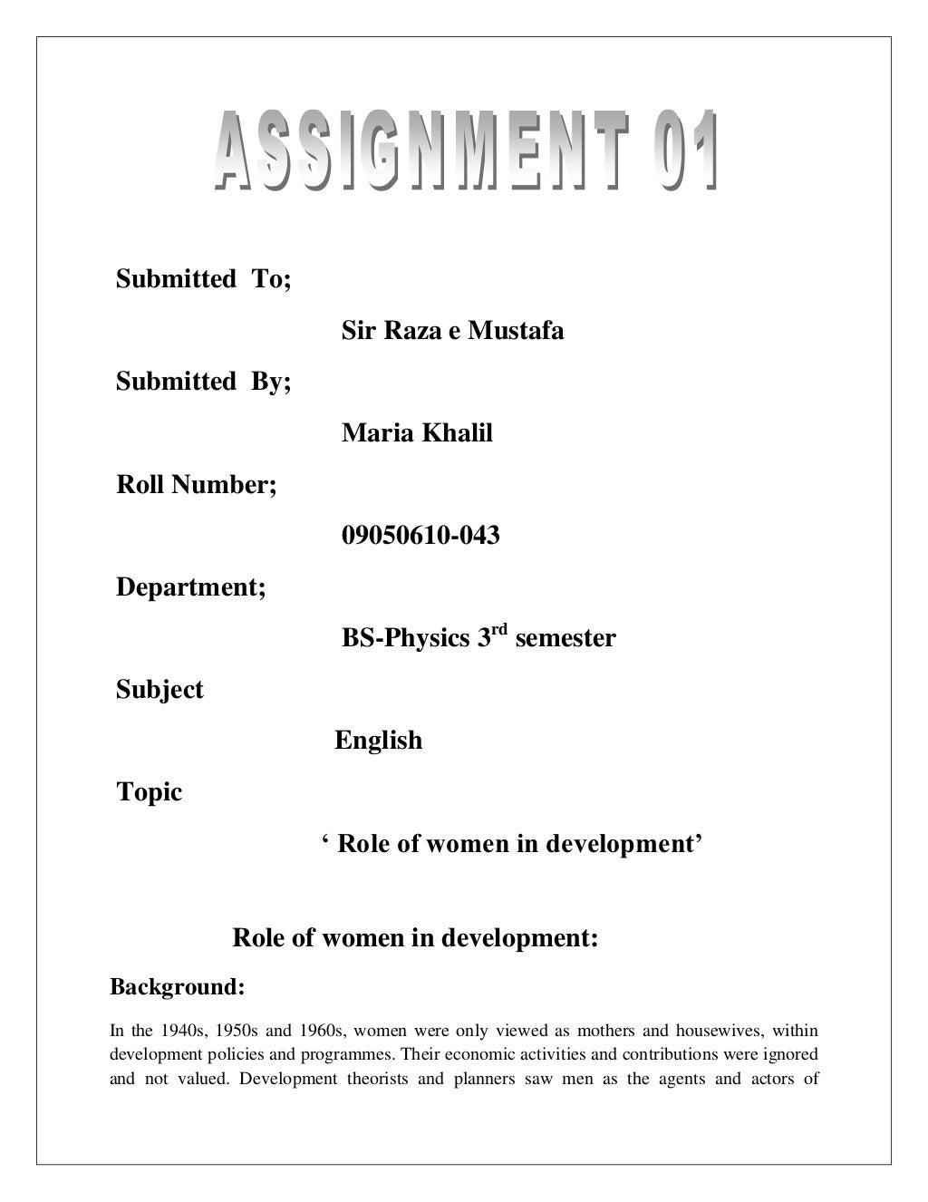 Role of Women Education in the Socio-Economic and Political Development