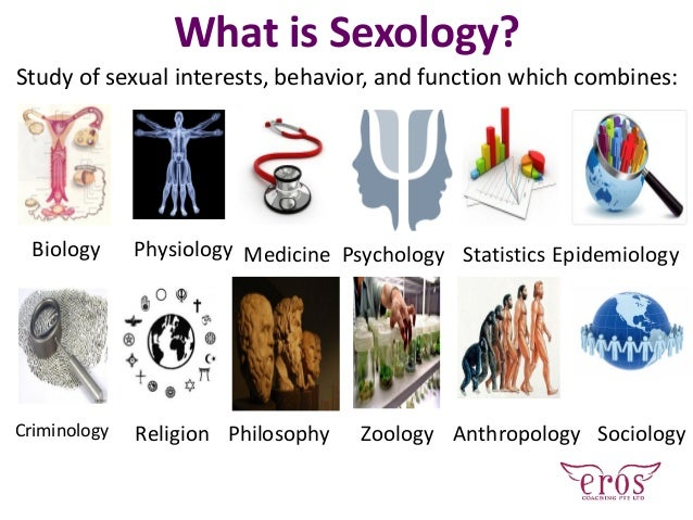 What is Sexology? Study of sexual interests, behavior, and function which combines: Biology Physiology Medicine Psychology...