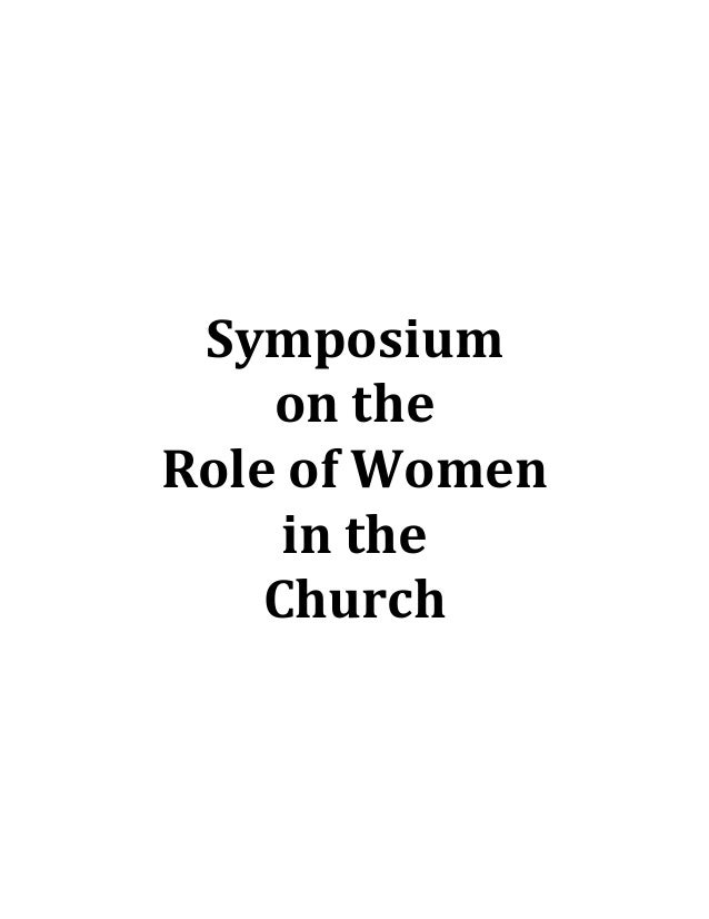 Role of women in the church 0 book