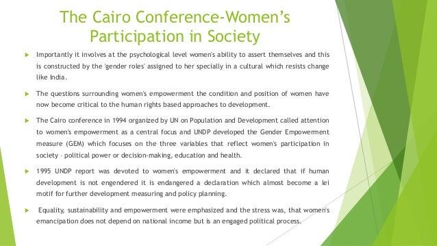 womens role in social change pdf