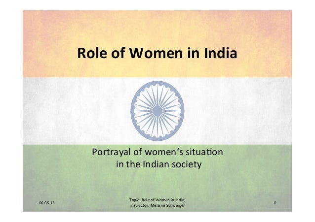 The Role of Women in India