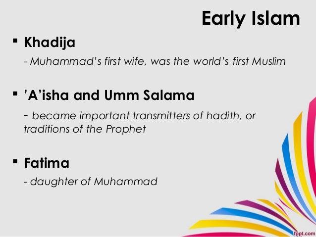 Important Women In Islam