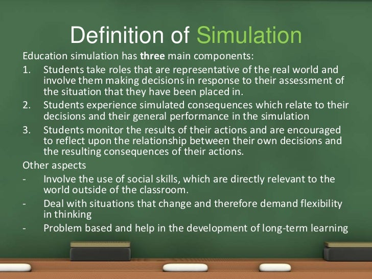Role playing and Simulation Seminar