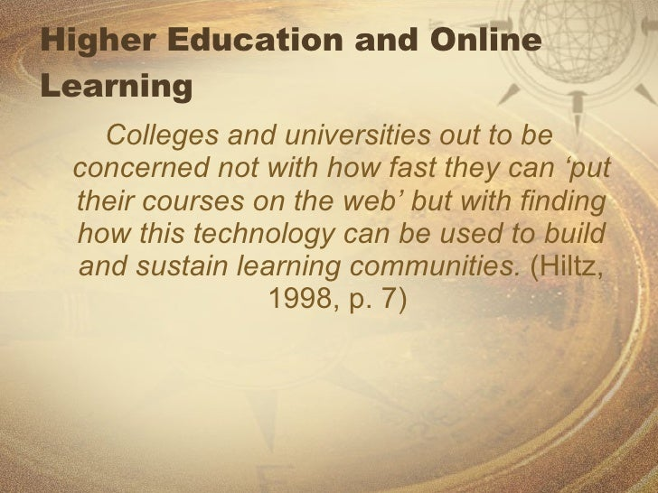 Roles and Responsibilities of the Online Instructor Slide 2