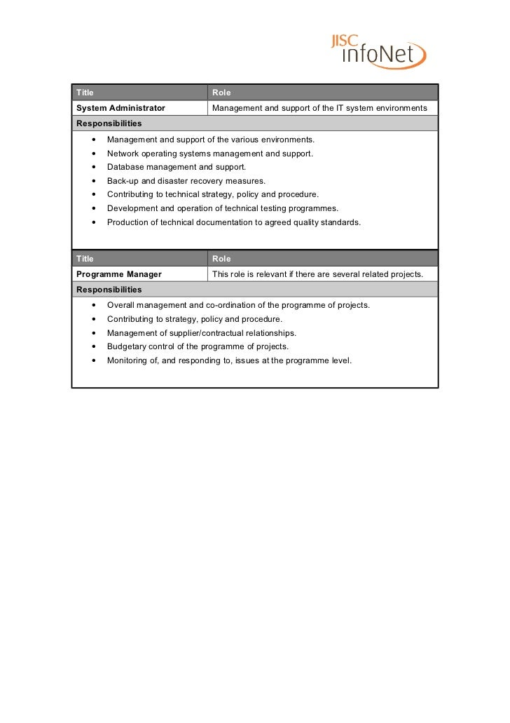 manager roles and responsibilities pdf