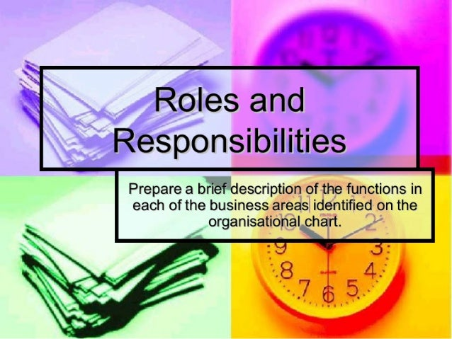 roles and responsibilities in life long Unit number- m503/1229 unit title roles, responsibilities and relationships in lifelong learning presented as a requisite for the pttls levels 3 academic year 2013-04-09 word count 4,267 1 1 there are many legislation and regulatory requirements and codes of practice that need to be considered in my role as a tutor.