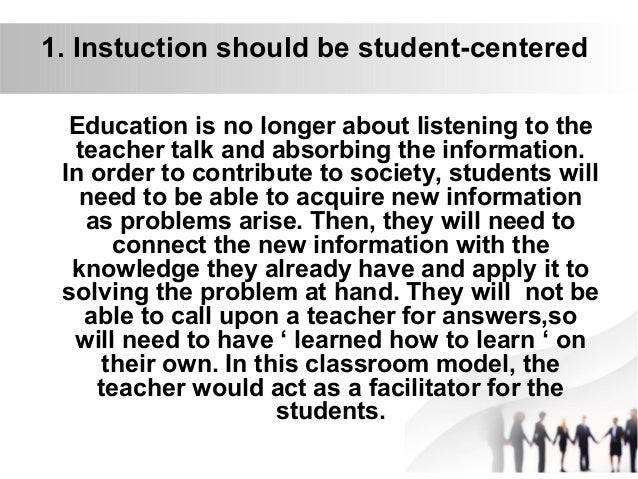 Roles and functions of educational technology in the 21st century education Slide 3