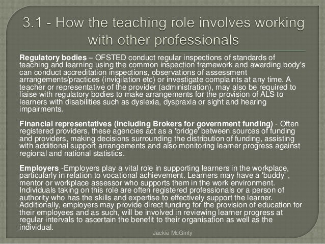 Roles and responsibilites