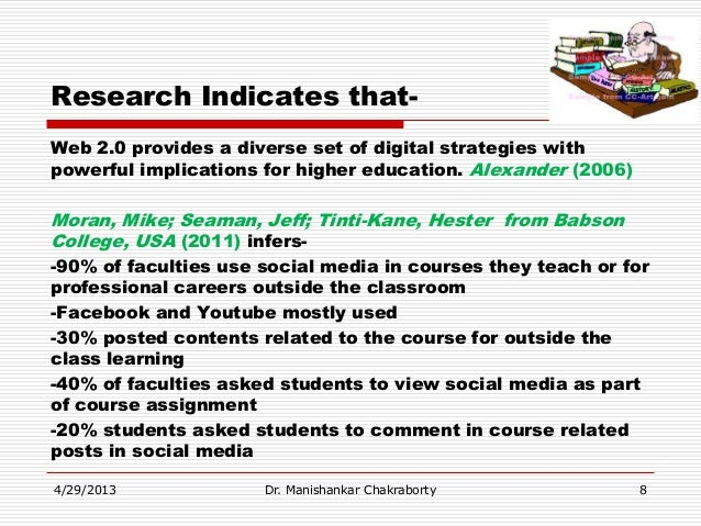 UPDATED PPT on Role social media in teaching and learning dr manishan…