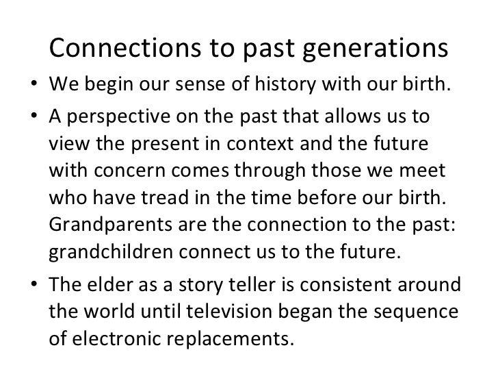 our grandparents essay