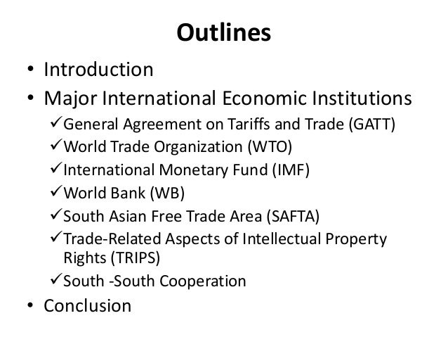 wto wb and imf In the international realm these include the wto, imf, and world bank, each a natural outgrowth of the desire of the most powerful capitalists to (a.