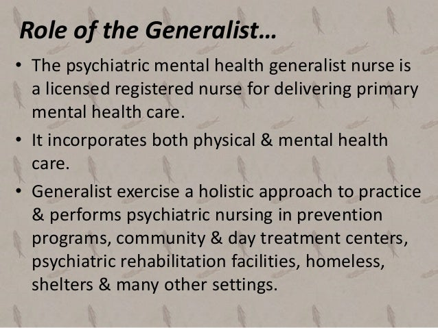 how to become a registered mental health nurse