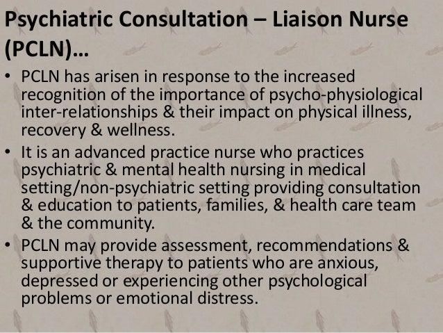 role of a mental health nurse