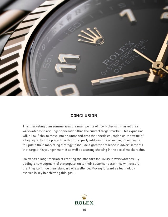 Brand Positioning: Luxury Watches