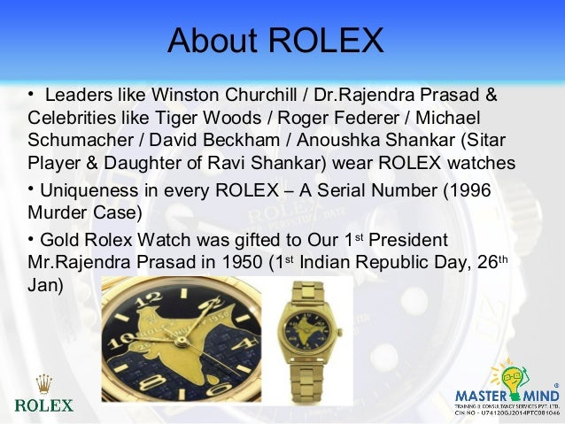 marketing plan rolex The marketing mix, as part of the marketing strategy, is the set of controllable, tactical marketing tools that a company uses to produce a desired response from its.