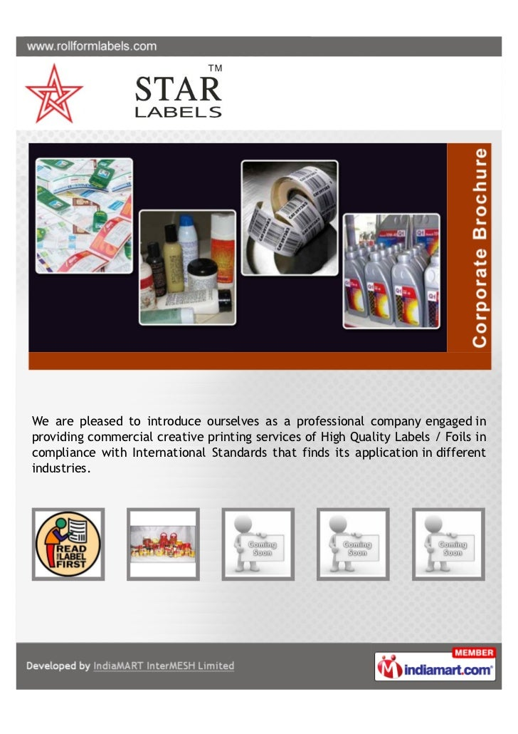 We are pleased to introduce ourselves as a professional company engaged inproviding commercial creative printing services ...