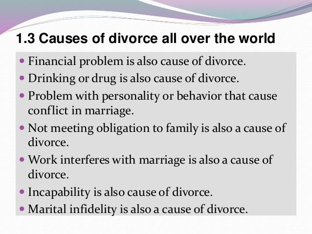 Cause and effect essays on divorce 379235